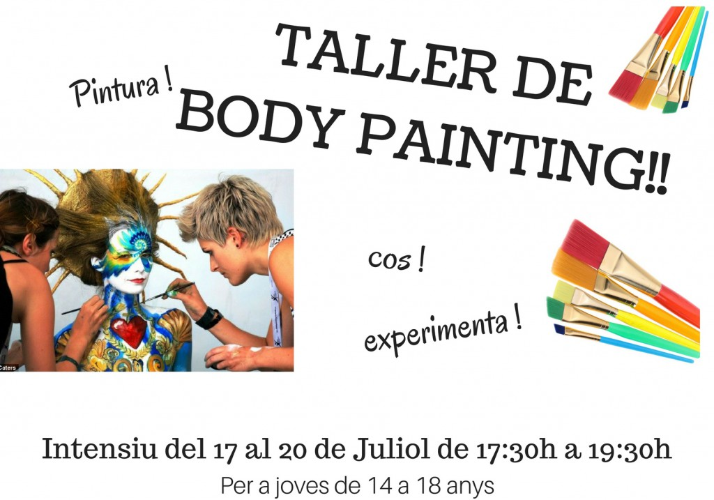 Cartell Body Painting Juliol thumb